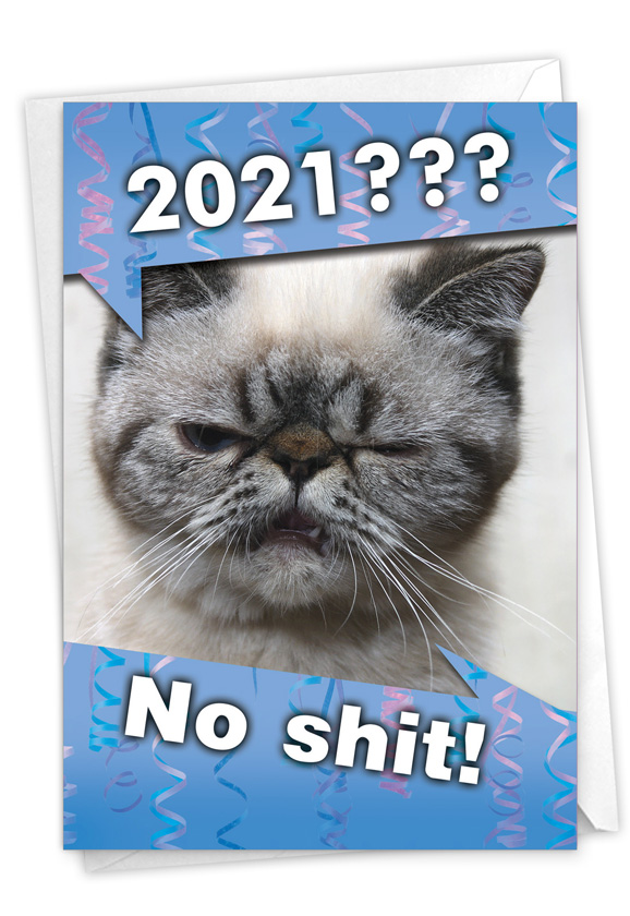 No Sh*t - 2020: Funny New Year Card