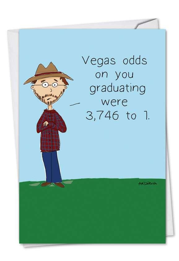 Vegas Odds Card