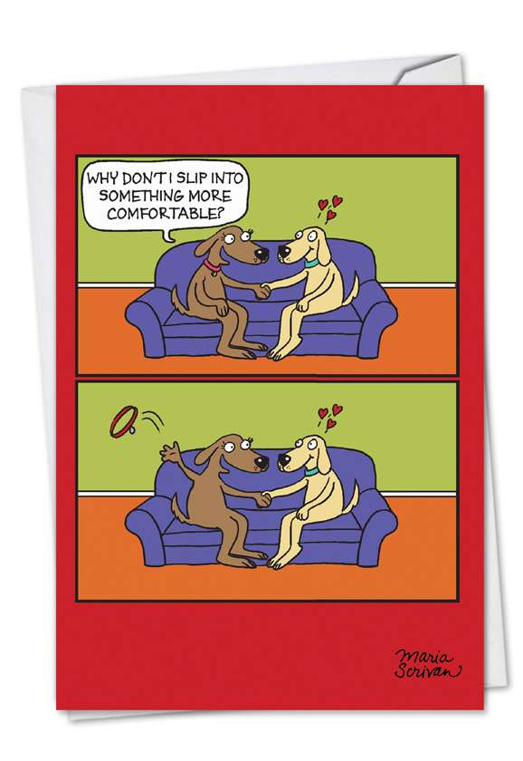 Uncollared: Hysterical Valentine's Day Paper Card