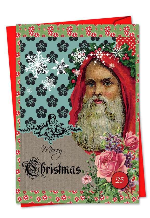 A Rosy Christmas Card