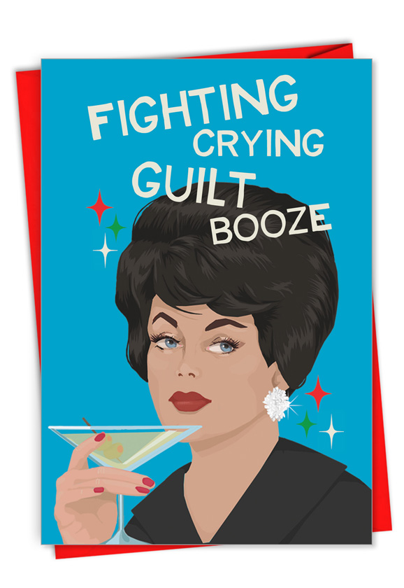 Fighting Crying and Guilt Card