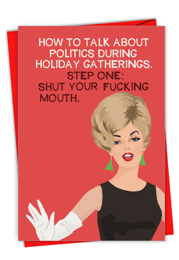 Politics During the Holidays: Hilarious Merry Christmas Greeting Card