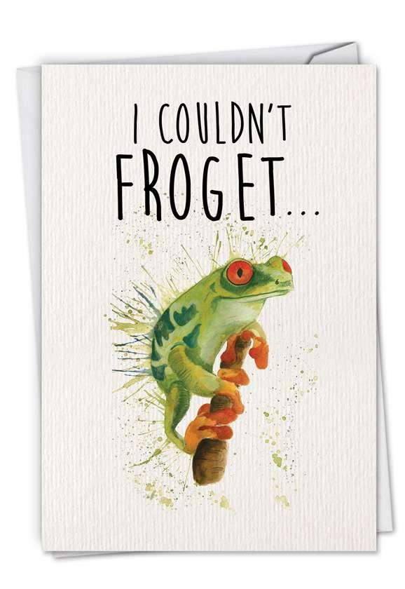 Wildlife Expressions: Creative Birthday Printed Card