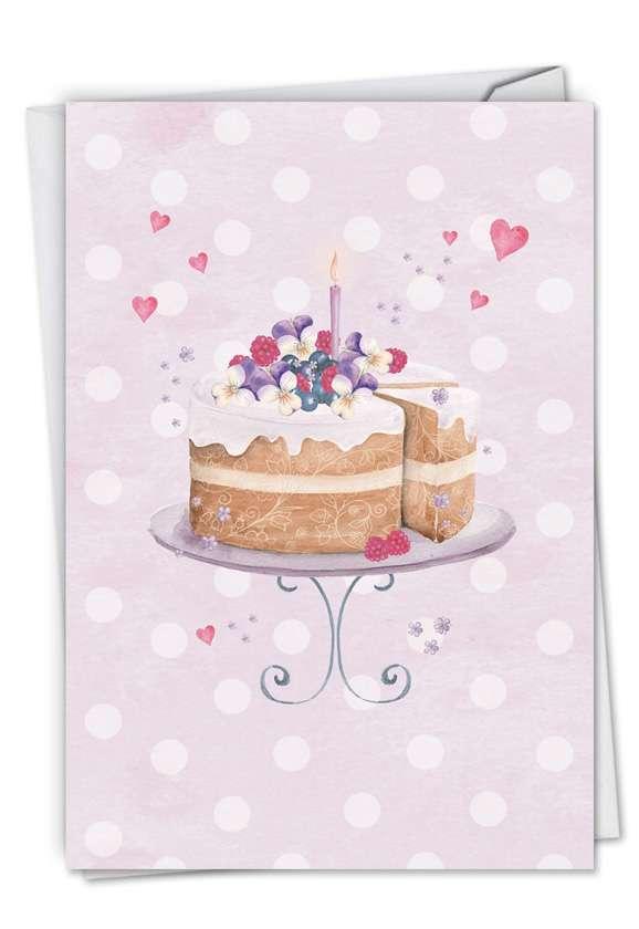 WATERCOLOR CAKE Card