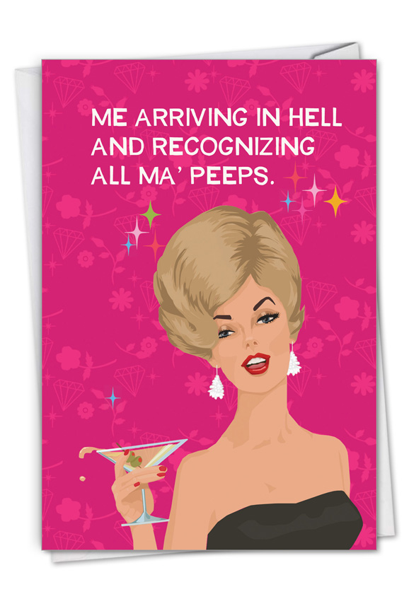 Ma' Peeps: Hysterical Birthday Greeting Card
