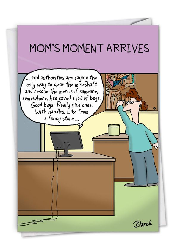 Mom's Moment: Funny Mother's Day Card