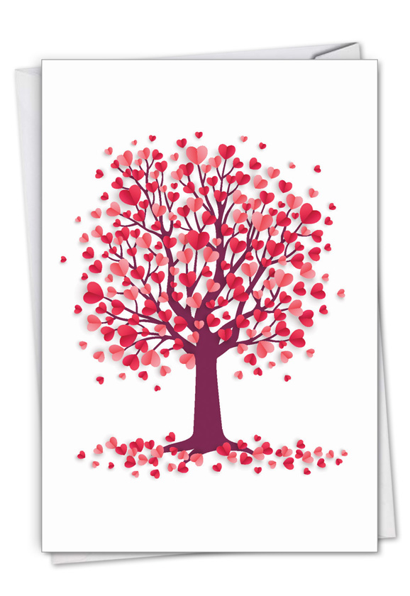 Love Trees: Creative Valentine's Day Printed Card