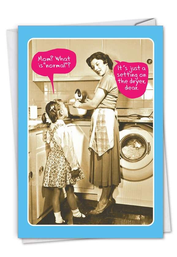 Normal Mom Card