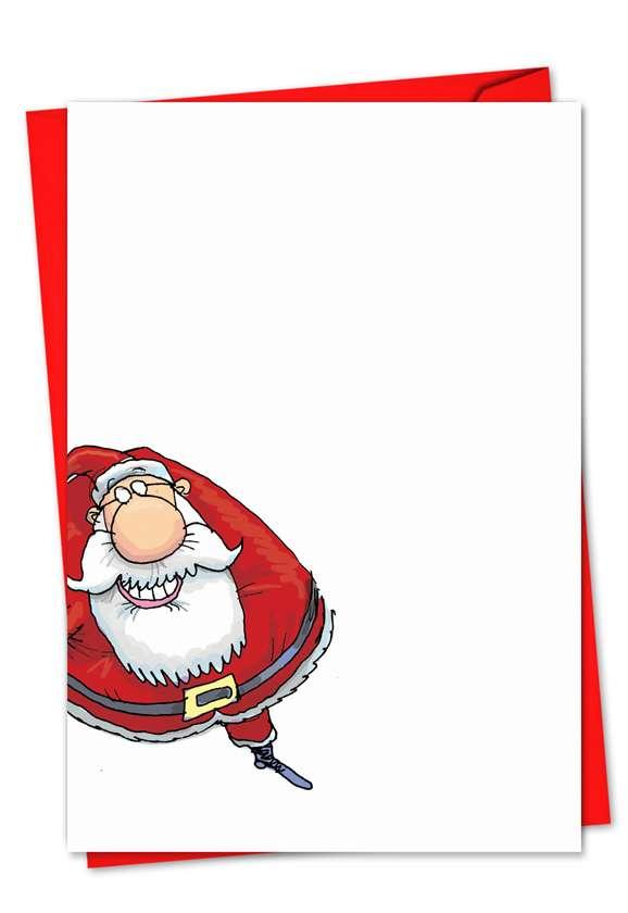 Santastic: Creative Christmas Printed Card