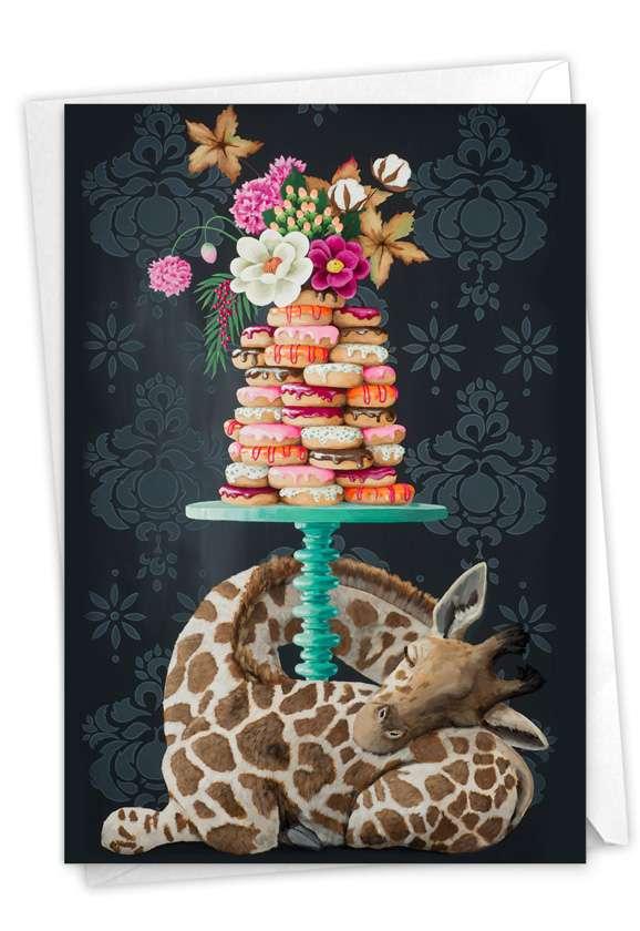 Fancy Wildlife - Giraffe Card