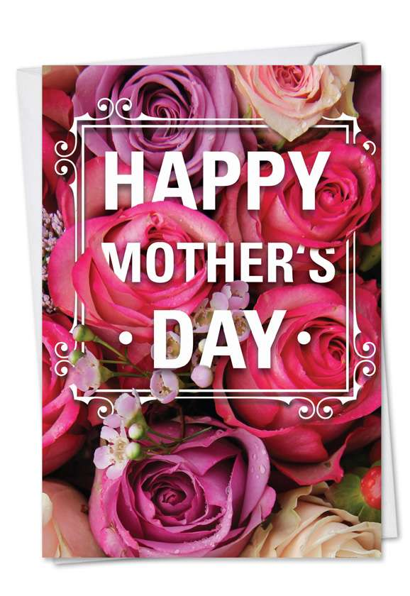 Flowers for Mom: Creative Mother's Day Paper Greeting Card