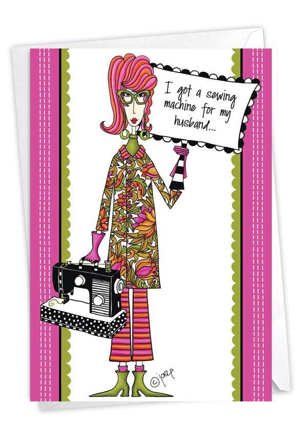 Good Trade: Humorous Birthday Paper Greeting Card