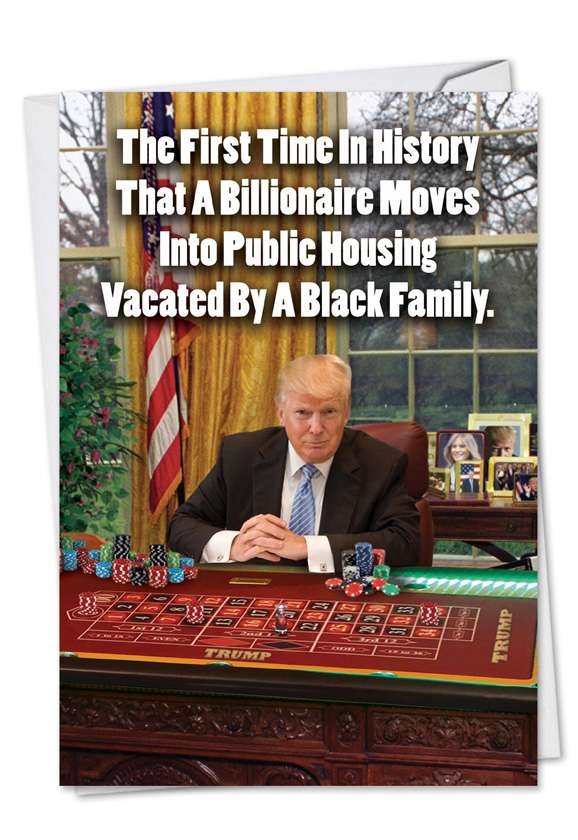 First Time In History Card