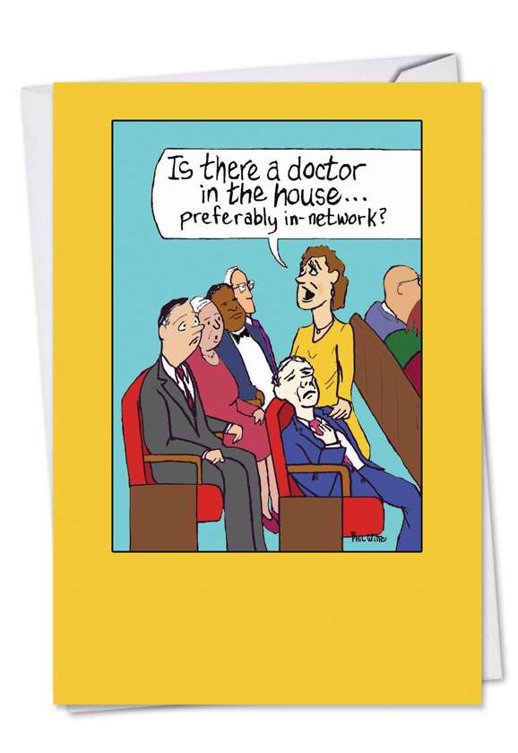 Doctor In The House: Hysterical Get Well Greeting Card