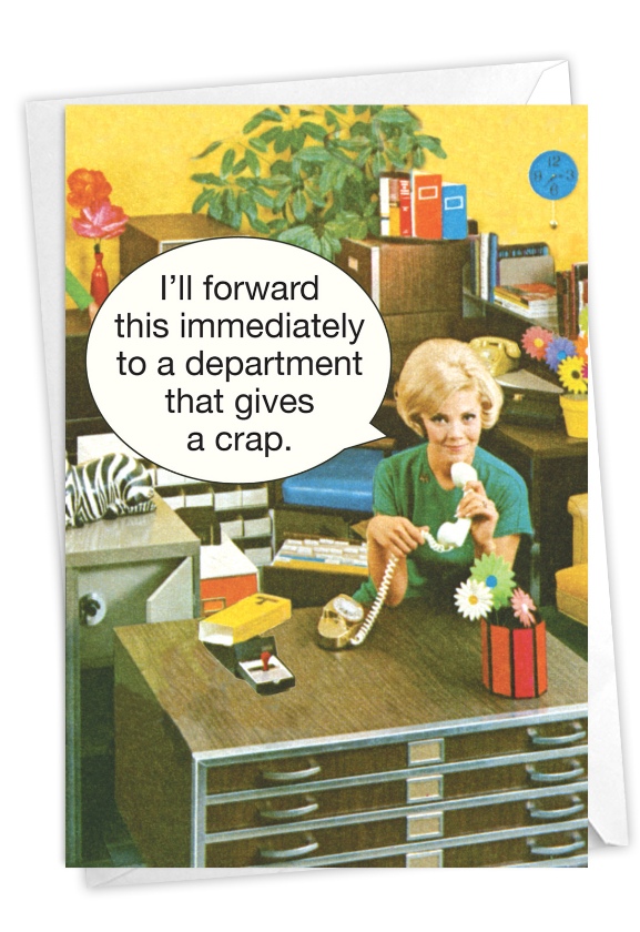 Department Gives a Crap: Hysterical Anniversary Greeting Card