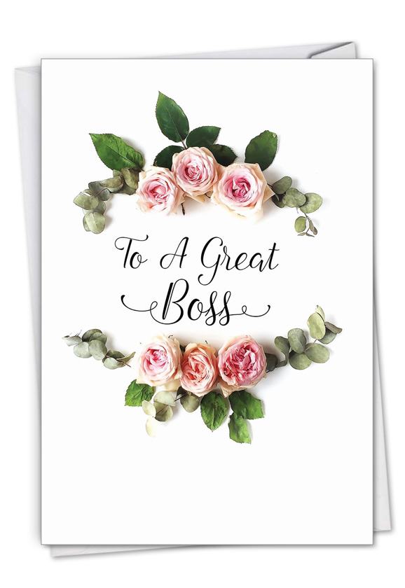 Elegant Flowers Card
