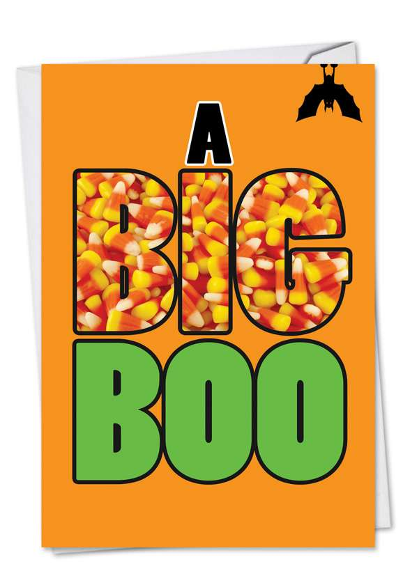 A Big Boo: Hysterical Halloween Paper Card