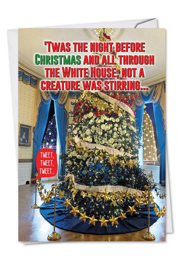 Trump Twas The Night: Humorous Christmas Printed Card