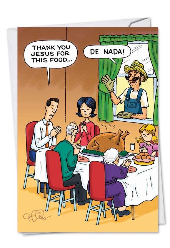 Holiday Prayer Card