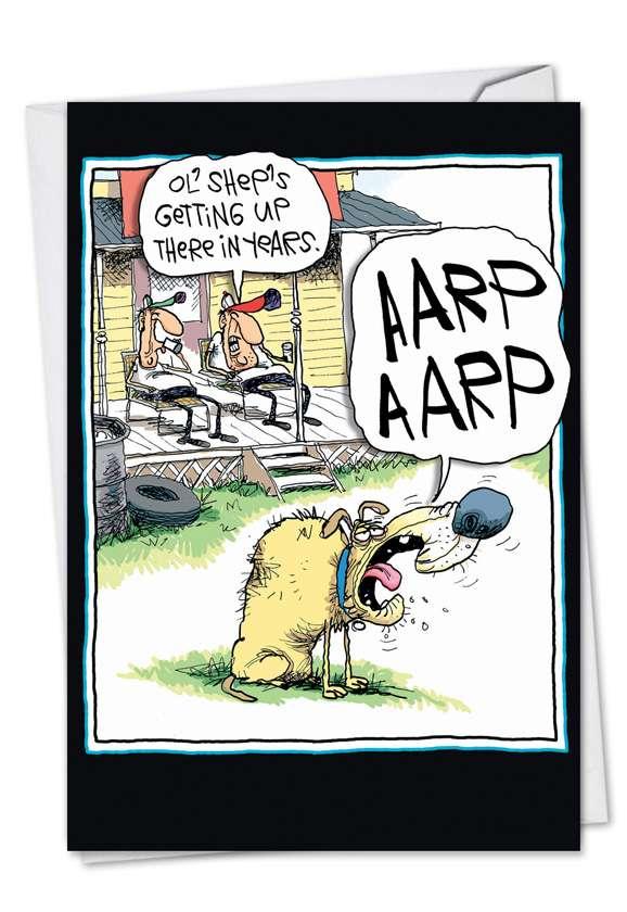 AARP AARP: Humorous Birthday Paper Card