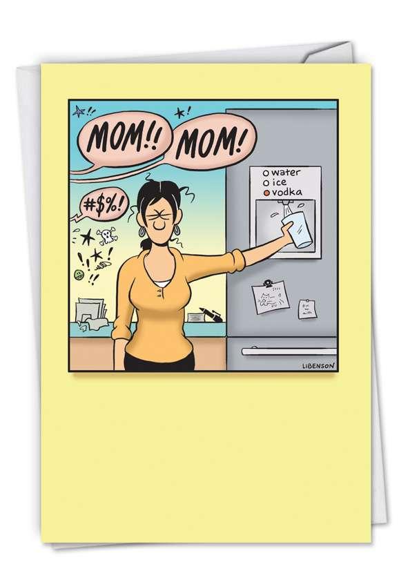 Vodka Mom Card