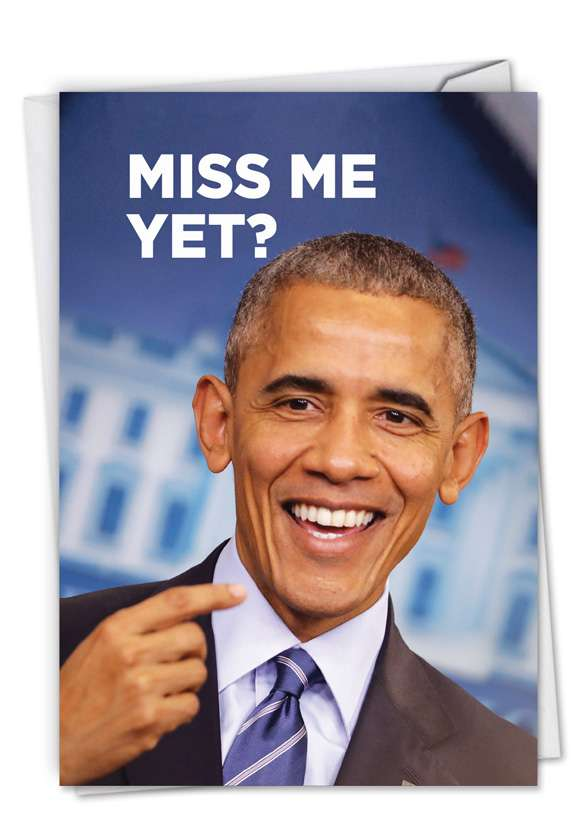 Miss Me Yet?: Hilarious Birthday Greeting Card