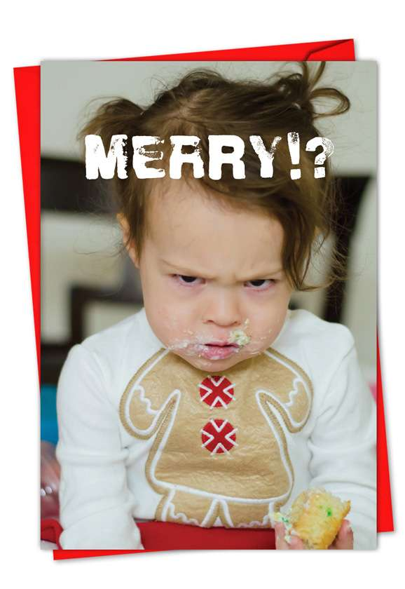 Christmas Mess: Hilarious Seasons Greetings Printed Card