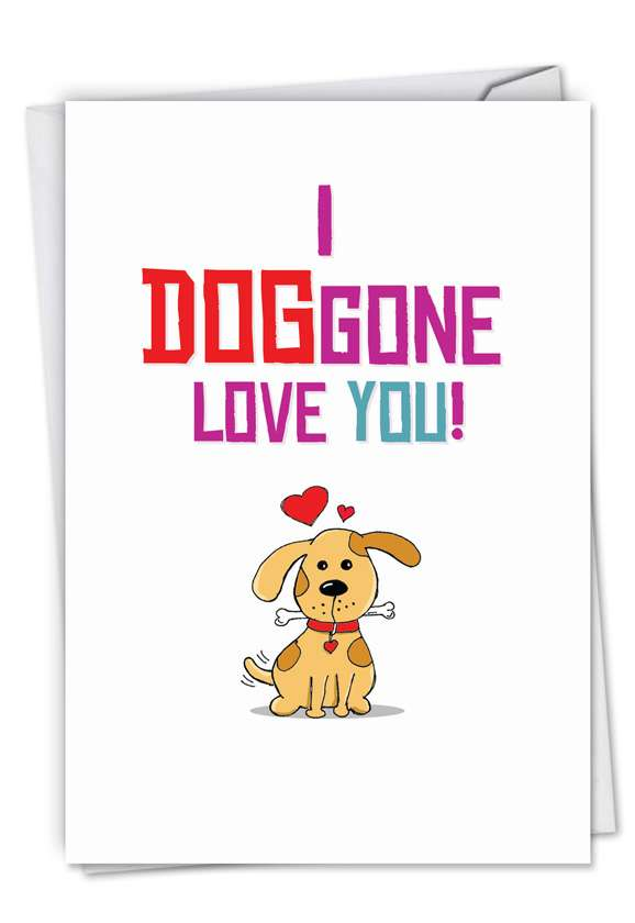 Doggone Love Card