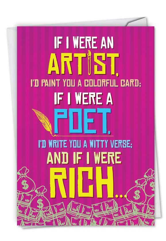 If I Were An Artist Card