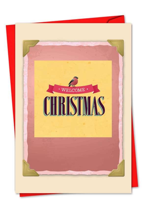 Christmas Redux: Creative Christmas Paper Greeting Card