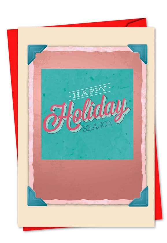 Christmas Redux: Creative Christmas Paper Card
