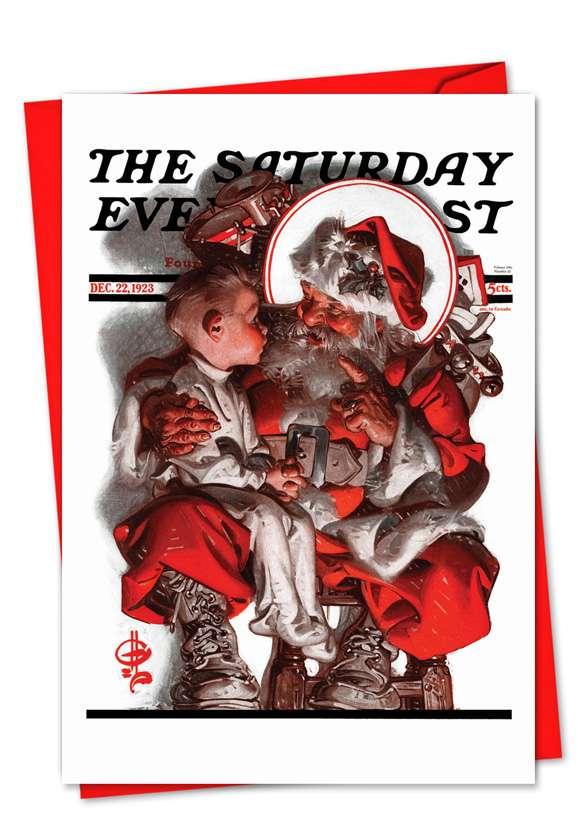 Christmas Evening Post: Creative Christmas Paper Card