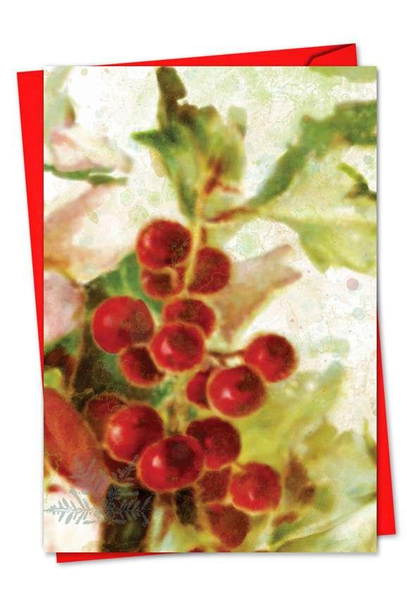 Holly Days: Creative Christmas Printed Card