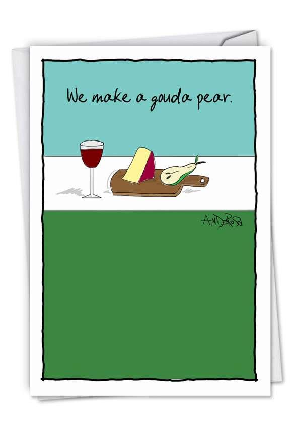 Gouda Pear Card