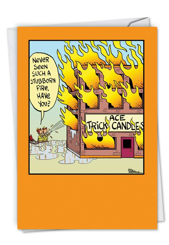 Trick Candles: Funny Birthday Greeting Card