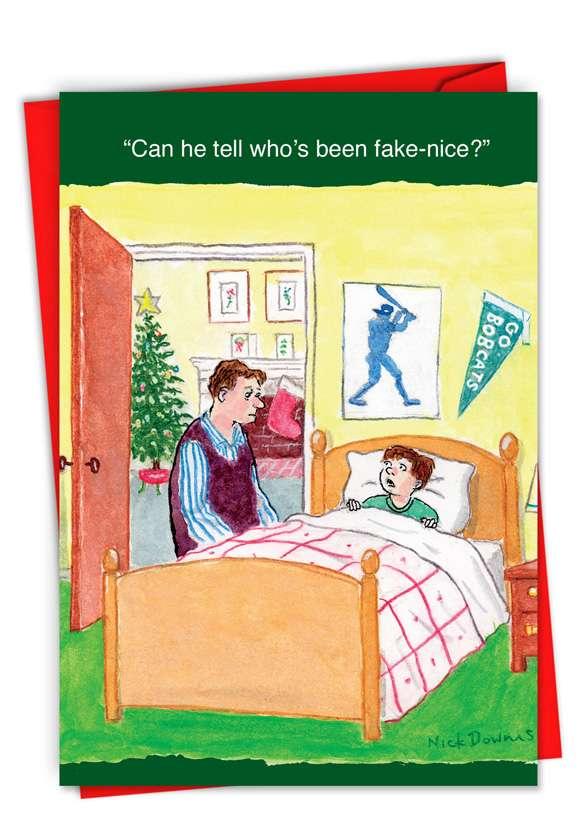 Fake-Nice Card