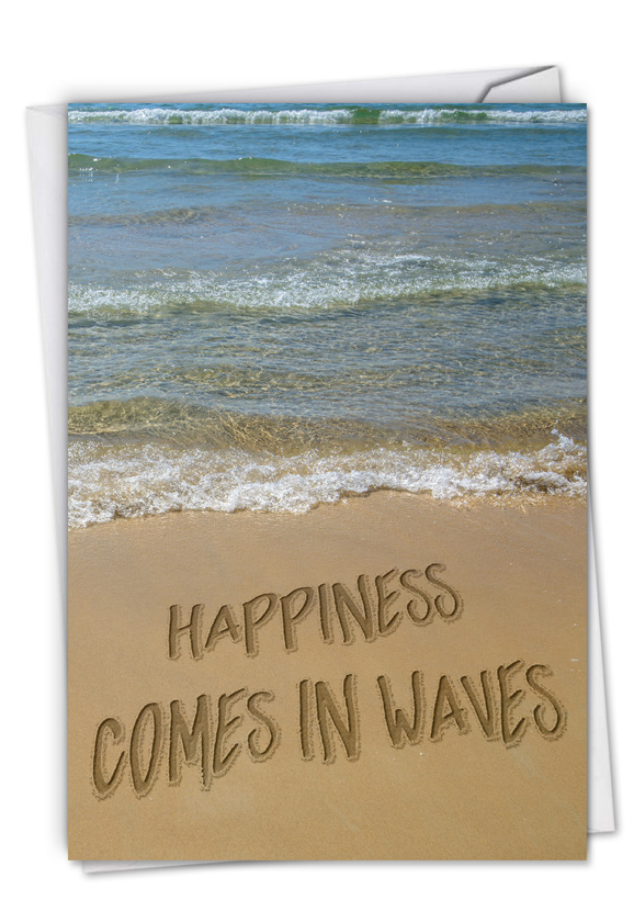Life's a Beach Blank Card