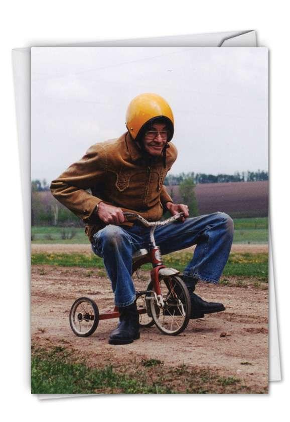 Senior Trike Ride Card