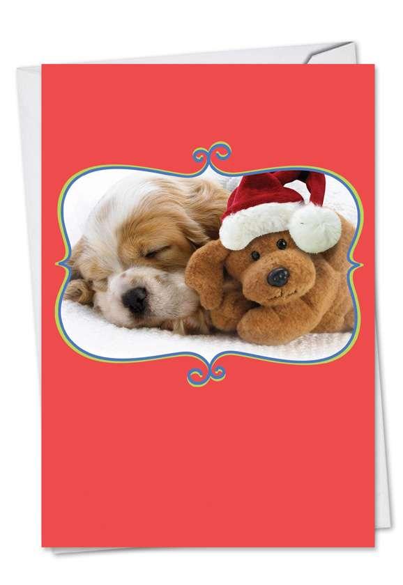 Christmas Cuddle Buddies: Creative Christmas Paper Card
