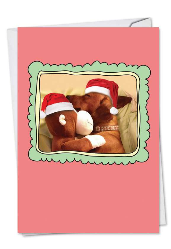 Christmas Cuddle Buddies: Creative Christmas Printed Card
