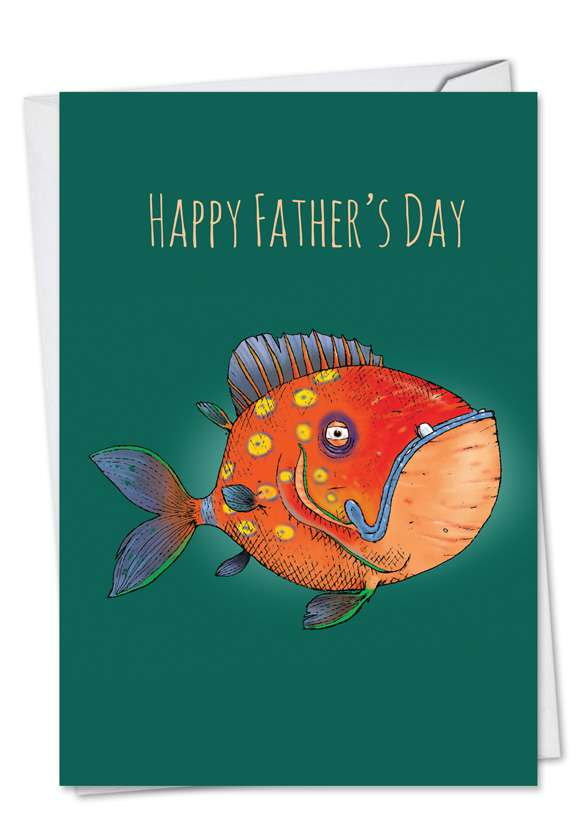 Fishtoons: Creative Father's Day Greeting Card