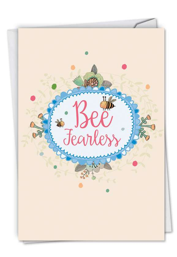 Let It Bee: Creative Graduation Paper Card