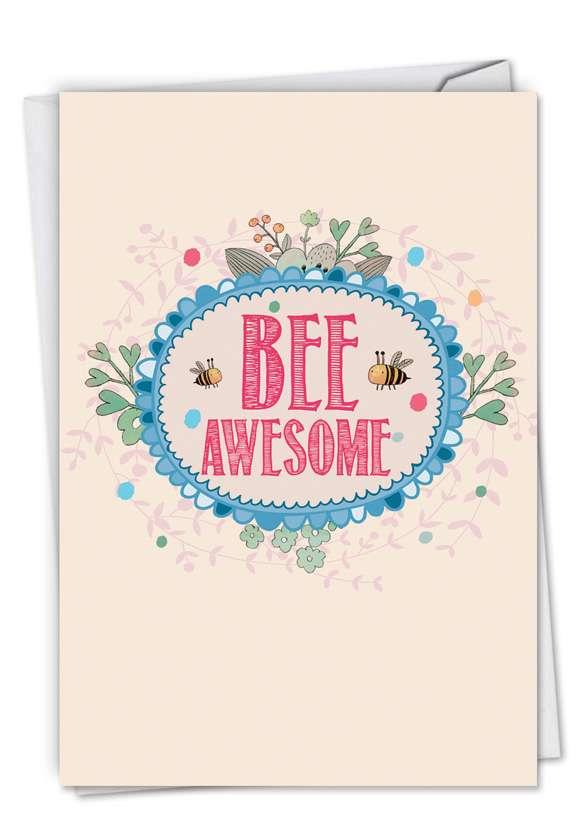Let It Bee Card