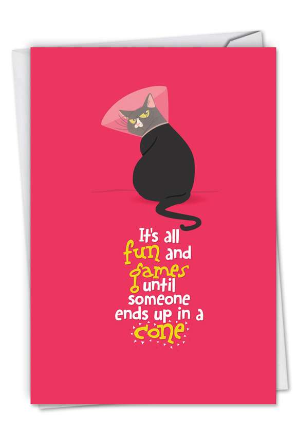 Catty: Stylish Get Well Paper Card