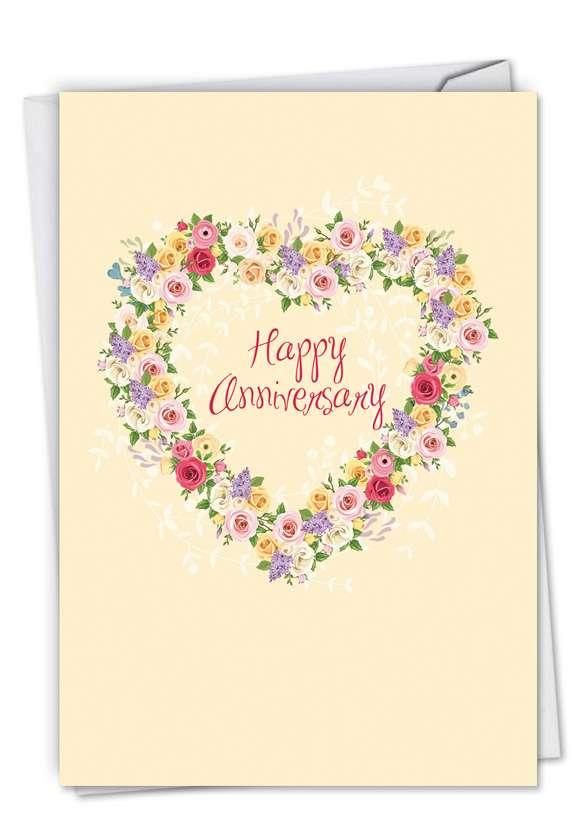Heartfelt Thanks: Creative Anniversary Paper Greeting Card