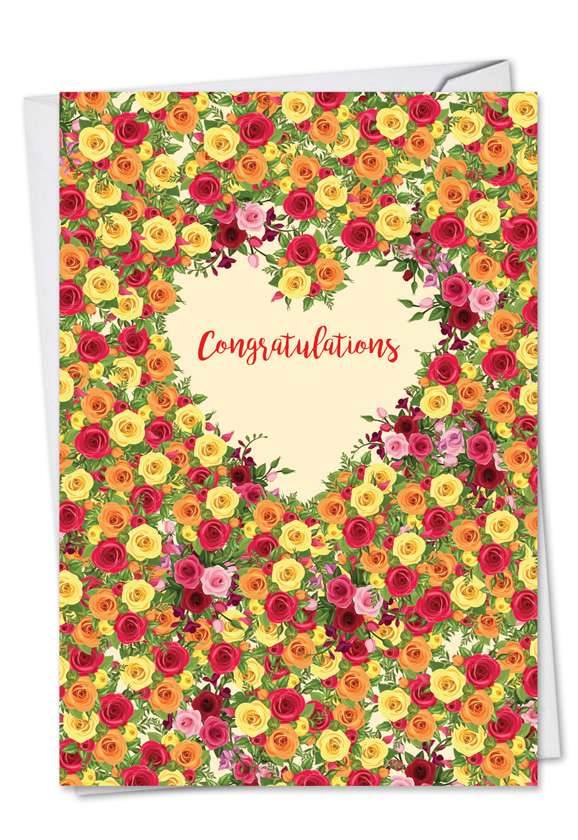 Heartfelt Thanks: Creative Engagement Printed Card