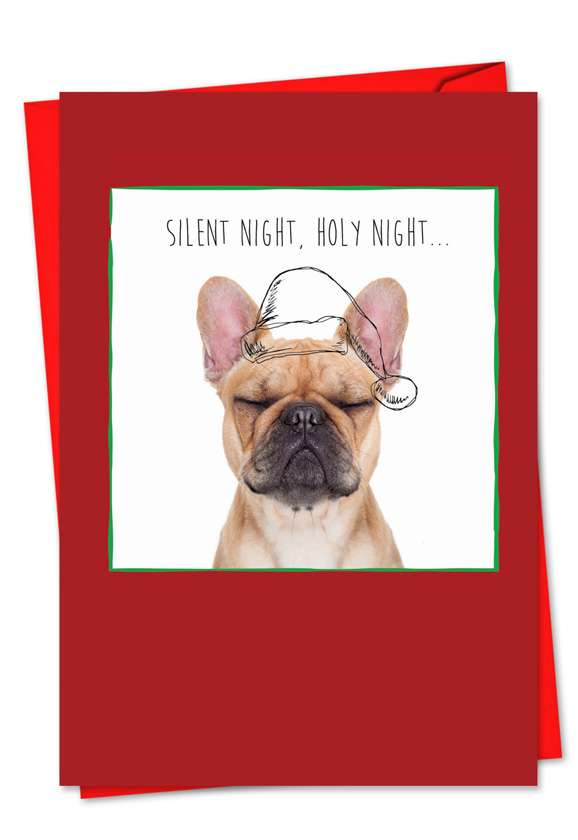 Holiday Dogs & Doodles: Stylish Christmas Paper Card
