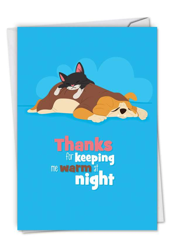 Doggone Awesome Notes: Creative Anniversary Paper Card