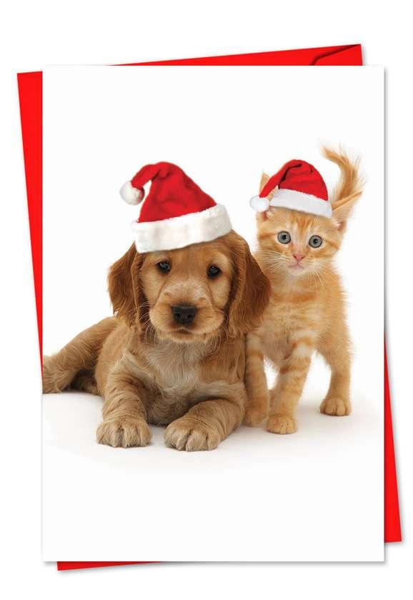 Copy Cats: Stylish Christmas Printed Card