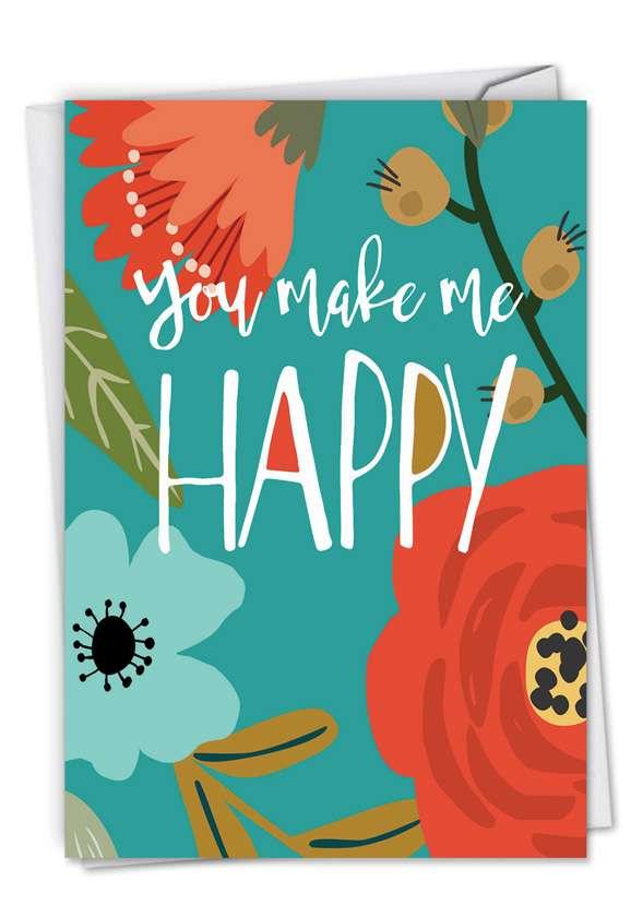 Optimisms: Creative Anniversary Greeting Card
